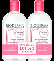 CREALINE TS H2O Solution micellaire sans parfum nettoyante apaisante 2Fl/500ml à TIGNIEU-JAMEYZIEU