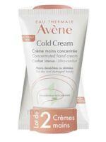 Avène Eau Thermale Cold Cream Duo Crème Mains 2x50ml à TIGNIEU-JAMEYZIEU