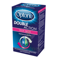 OPTONE DOUBLE ACTION Solution oculaire yeux secs Fl/10ml à TIGNIEU-JAMEYZIEU