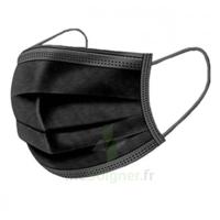 Masque Chirurgical Noir B/50 à TIGNIEU-JAMEYZIEU