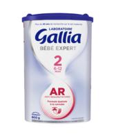 GALLIA BEBE EXPERT AR 2 Lait en poudre B/800g à TIGNIEU-JAMEYZIEU