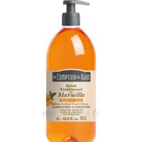 Acheter Savon de Marseille Mandarine-Sauge 1L Comptoir du bain à TIGNIEU-JAMEYZIEU