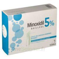 MINOXIDIL BAILLEUL 5 % Solution pour application cutanée 3 Fl/60ml à TIGNIEU-JAMEYZIEU