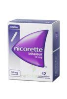 NICORETTE INHALEUR 10 mg Cartouche p inh bucc inhalation buccale B/42 à TIGNIEU-JAMEYZIEU