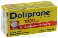 DOLIPRANE 1000 mg Comprimés effervescents sécables T/8 à TIGNIEU-JAMEYZIEU