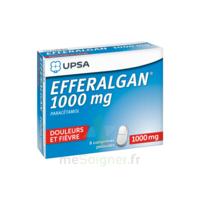 Efferalgan 1000 mg Comprimés pelliculés Plq/8 à TIGNIEU-JAMEYZIEU