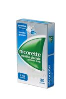 Nicorette 4 Mg Gom à Mâcher Médic Sans Sucre Menthe Glaciale Plq/30gom à TIGNIEU-JAMEYZIEU