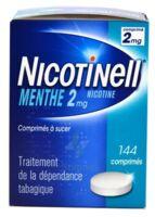 NICOTINELL MENTHE 2 mg, comprimé à sucer Plaq/144 à TIGNIEU-JAMEYZIEU