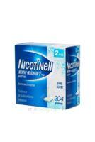 NICOTINELL MENTHE FRAICHEUR 2 mg SANS SUCRE, gomme à mâcher médicamenteuse Plq/204 à TIGNIEU-JAMEYZIEU