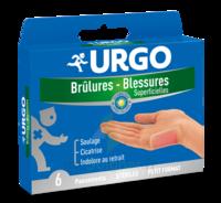 URGO BRULURES-BLESSURES PETIT FORMAT x 6 à TIGNIEU-JAMEYZIEU