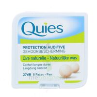 QUIES PROTECTION AUDITIVE CIRE NATURELLE 8 PAIRES à TIGNIEU-JAMEYZIEU