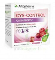 Cys-Control 36mg Poudre orale 20 Sachets/4g à TIGNIEU-JAMEYZIEU
