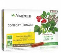 Arkofluide Bio Ultraextract Solution Buvable Confort Urinaire 20 Ampoules/10ml à TIGNIEU-JAMEYZIEU