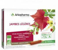 Arkofluide Bio Ultraextract Solution buvable jambes légères 20 Ampoules/10ml à TIGNIEU-JAMEYZIEU