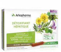 Arkofluide Bio Ultraextract Solution buvable détoxifiant hépatique 20 Ampoules/10ml à TIGNIEU-JAMEYZIEU