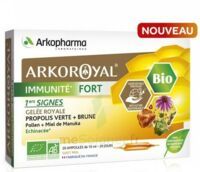 Arkoroyal Immunité Fort Solution Buvable 20 Ampoules/10ml à TIGNIEU-JAMEYZIEU
