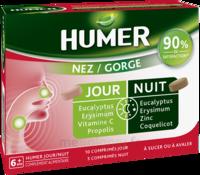 HUMER Nez/Gorge jour&nuit 15 comprimés à TIGNIEU-JAMEYZIEU