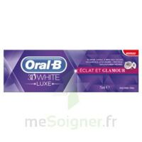 ORAL B 3D WHITE LUXE ECLAT ET GLAMOUR, tube 75 ml à TIGNIEU-JAMEYZIEU