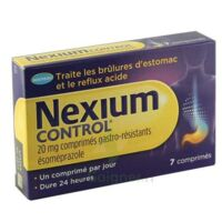 NEXIUM CONTROL 20 mg Cpr gastro-rés Plq/7 à TIGNIEU-JAMEYZIEU