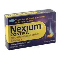 Nexium Control 20 Mg Comprimés Gastro-résistants Plq/14