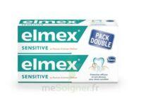 Elmex Sensitive Dentifrice, Tube 75 Ml, Pack 2 à TIGNIEU-JAMEYZIEU