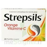 STREPSILS ORANGE VITAMINE C, pastille à TIGNIEU-JAMEYZIEU