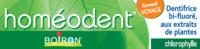 Boiron Homéodent Soin Complet Dents Et Gencives Pâte Dentifrice Chlorophylle Format Voyage T/25ml à TIGNIEU-JAMEYZIEU