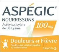 Aspegic Nourrissons 100 Mg, Poudre Pour Solution Buvable En Sachet-dose à TIGNIEU-JAMEYZIEU