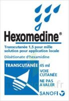 HEXOMEDINE TRANSCUTANEE 1,5 POUR MILLE, solution pour application locale à TIGNIEU-JAMEYZIEU