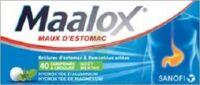 Maalox Hydroxyde D'aluminium/hydroxyde De Magnesium 400 Mg/400 Mg Cpr à Croquer Maux D'estomac Plq/40 à TIGNIEU-JAMEYZIEU