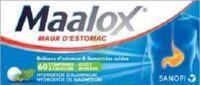 MAALOX HYDROXYDE D'ALUMINIUM/HYDROXYDE DE MAGNESIUM 400 mg/400 mg Cpr à croquer maux d'estomac Plq/60 à TIGNIEU-JAMEYZIEU