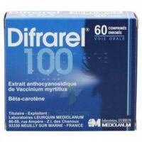 DIFRAREL 100 mg, comprimé enrobé 6Plq/10 à TIGNIEU-JAMEYZIEU
