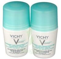 VICHY TRAITEMENT ANTITRANSPIRANT BILLE 48H, fl 50 ml, lot 2 à TIGNIEU-JAMEYZIEU