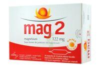 MAG 2 122 mg S buv en ampoule sans sucre édulcoré à la saccharine sodique 30Amp/10ml à TIGNIEU-JAMEYZIEU