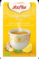 Yogi Tea Gingembre Citron à TIGNIEU-JAMEYZIEU