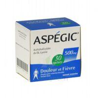 ASPEGIC 500 mg, poudre pour solution buvable en sachet-dose 30 à TIGNIEU-JAMEYZIEU