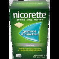 Nicorette 2 Mg Gom à Mâcher Médic Sans Sucre Menthe Fraîche Plq/105gom à TIGNIEU-JAMEYZIEU