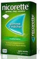 Nicorette 2 Mg Gom à Mâcher Médic Sans Sucre Menthe Fraîche Plq/30gom à TIGNIEU-JAMEYZIEU