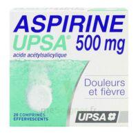 Aspirine Upsa 500 Mg, Comprimé Effervescent à TIGNIEU-JAMEYZIEU