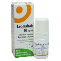 CROMABAK 20 mg/ml, collyre en solution à TIGNIEU-JAMEYZIEU