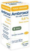 AMBROXOL EG LABO CONSEIL 0,6 %, solution buvable à TIGNIEU-JAMEYZIEU