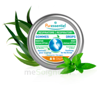 Puressentiel Respiratoire Gommes Menthe-Eucalyptus Respiratoire - 45 g à TIGNIEU-JAMEYZIEU
