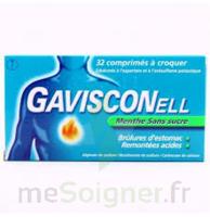 Gavisconell Coprimés à Croquer Sans Sucre Menthe édulcoré à L'aspartam Et à L'acésulfame Potas Plq/24 à TIGNIEU-JAMEYZIEU