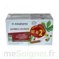 Arkofluide Bio Ultraextract Solution buvable jambes légères 2B/20 Ampoules/10ml à TIGNIEU-JAMEYZIEU