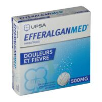 EFFERALGANMED 500 mg, comprimé effervescent sécable à TIGNIEU-JAMEYZIEU