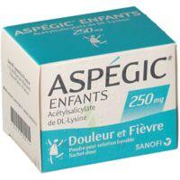 ASPEGIC ENFANTS 250, poudre pour solution buvable en sachet-dose à TIGNIEU-JAMEYZIEU
