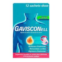 GAVISCONELL Suspension buvable sachet-dose menthe sans sucre 12Sach/10ml à TIGNIEU-JAMEYZIEU