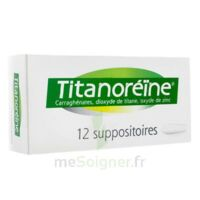 TITANOREINE Suppositoires B/12 à TIGNIEU-JAMEYZIEU
