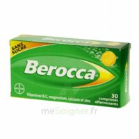 Berocca Comprimés effervescents sans sucre T/30 à TIGNIEU-JAMEYZIEU
