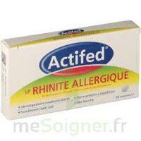 Actifed Lp Rhinite Allergique, Comprimé Pelliculé à Libération Prolongée à TIGNIEU-JAMEYZIEU